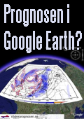Väderprognosen.se i Google Earth